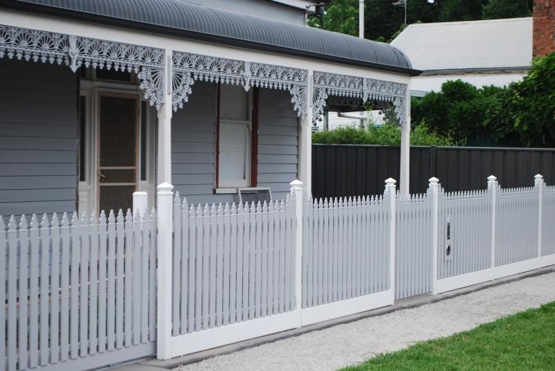Iron Fence Panels >> Is Steel Picket Fencing the future of Heritage Picket ...