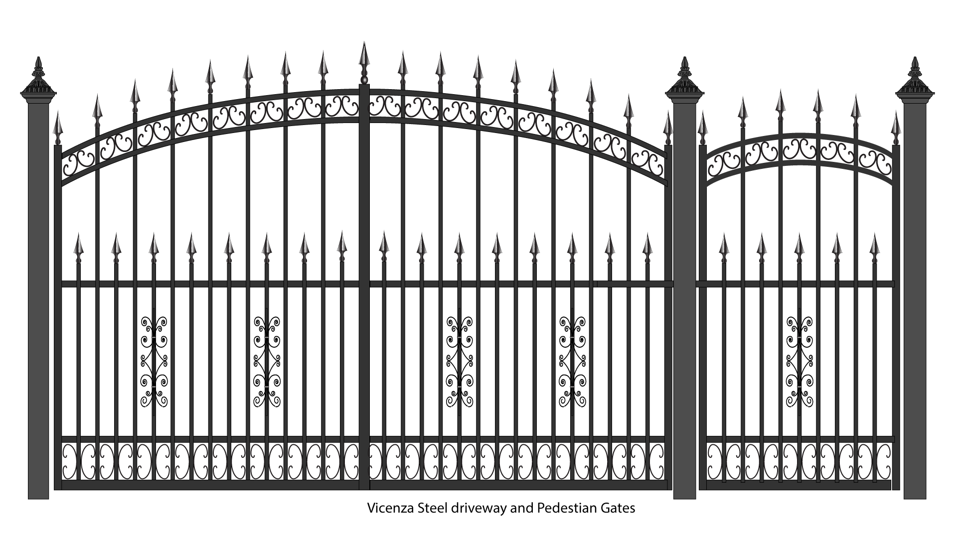 Iron Fence Png