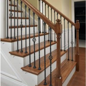 Wrought Iron and Balustrade Components
